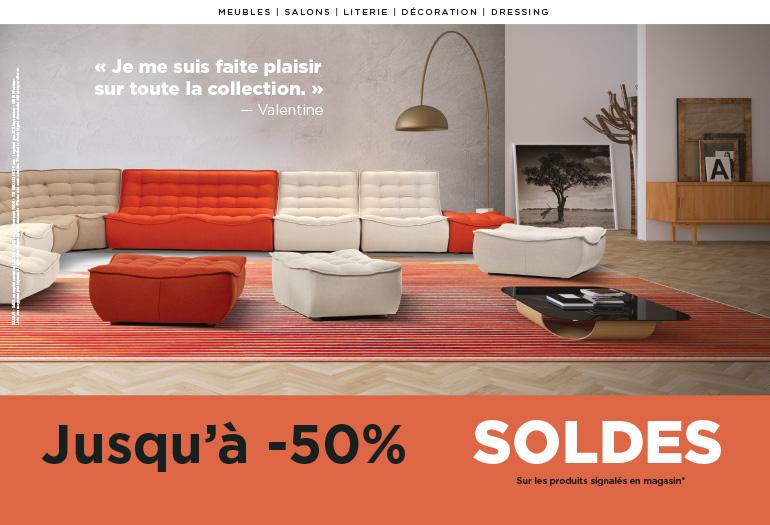 Soldes d'hiver - Côté meubles